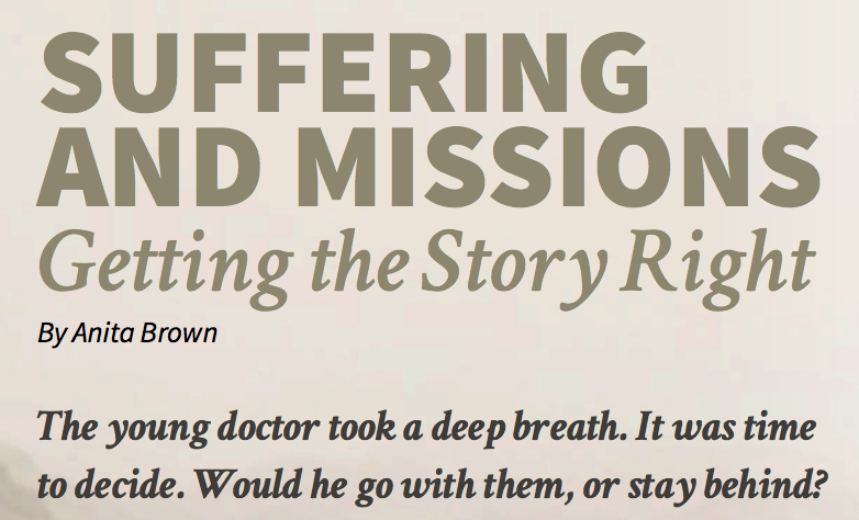 Suffering and Missions